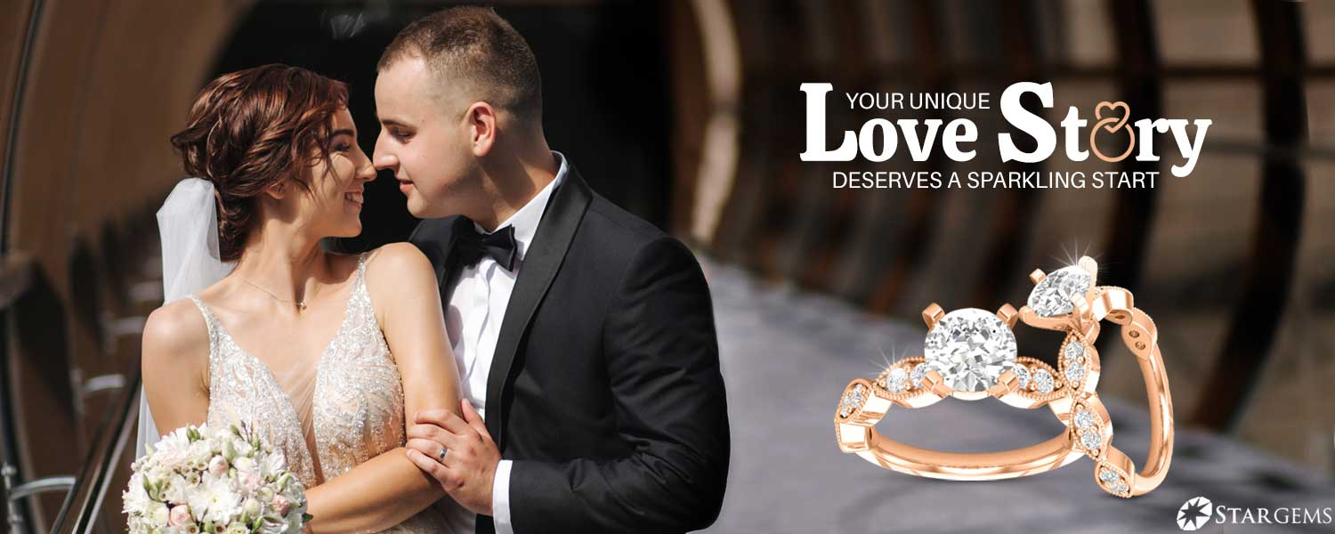 Rose Gold Solitaire Engagement Rings at Finkelstein Jewelers